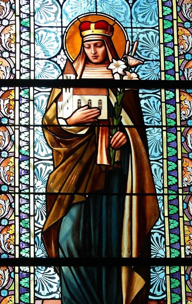 Sv. Anežka vkostele Nanebevzetí Panny Marie vKojetíně