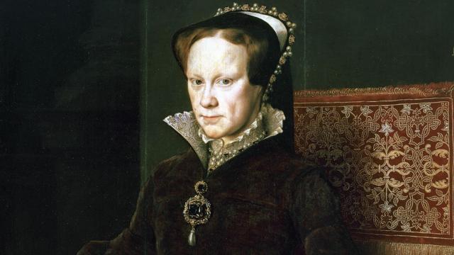 Královna Marie I. Tudorovna, zvaná Krvavá Marie