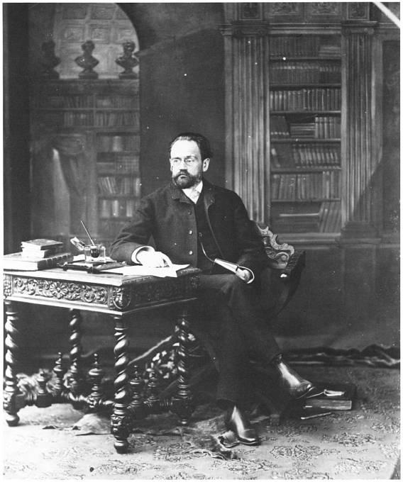 Emile Zola popisoval chmurné dny, kdy v márnici nebylo zrovna žádné tělo k prohlédnutí.