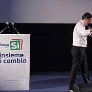 Italský premiér Matteo Renzi možná po referendu odejde z politické scény.