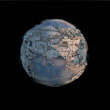 Vizualizace naší přelidněné planety v blízké budoucnosti, ilustrační foto