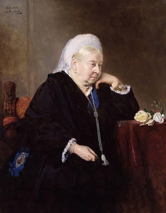 Královna Viktorie v 80 letech