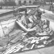 Detailní pohled na místo výbuchu v nápravně výchovném ústavu Bytíz