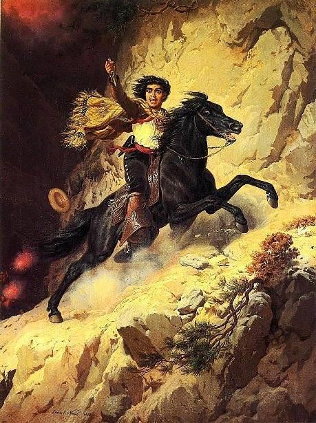 Bandita Joaquin Murrieta byl autorovi Zorra jednou ze živých předloh.
