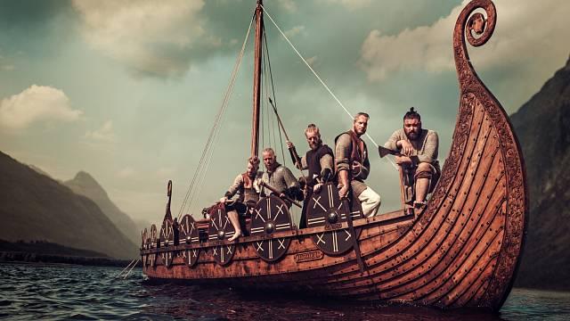 Vikingové byli skvělí mořeplavci.