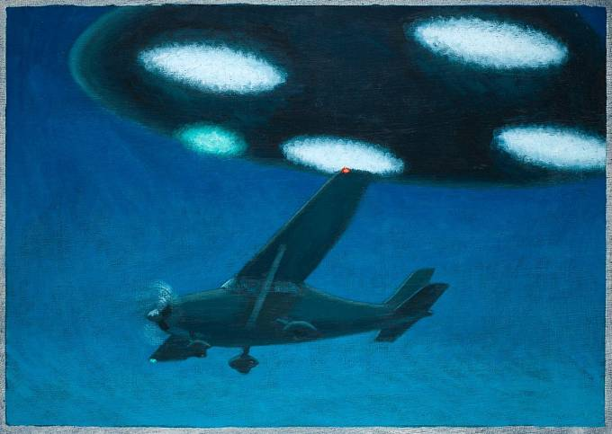 Poslední okamžiky Fredericka Valenticha v malířské fantazii