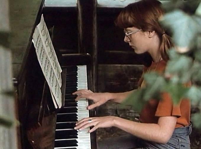 Stanislava Coufalová ve snímku Sonáta pro zrzku