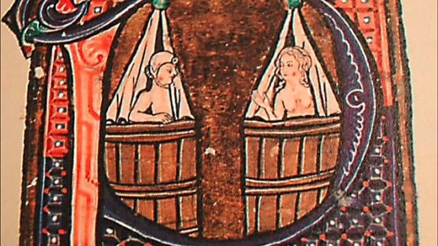 Bohatá šlechta si nicméně koupele dopřávala.