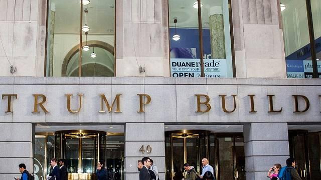 The Trump Building sídlí na prestižní adrese 40 Wall Street.