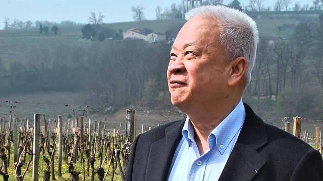 Čínský milardář Peter Kwok vlastní ve Francii řadu vinic.