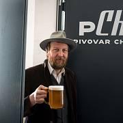 Správce pivovaru Petr Jakubíček