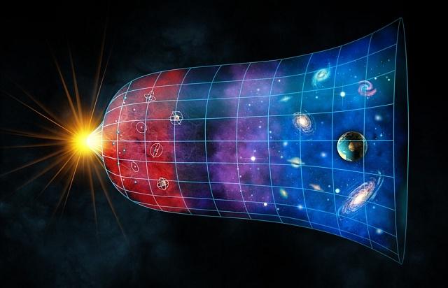 Vesmír má tvar badmintonového míčku.