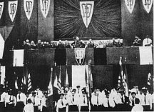 K.H. Frank na sjezdu Sudetoněmecké strany 24.4.1938
