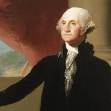 1. George Washington – 1. prezident (1789–1797). Čisté jmění: 525 mil. USD.