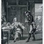 Fridrich II. Veliký a Voltaire v Sanssouci