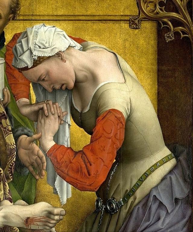 Plačící Máří Magdalena - obraz vlámského mistra