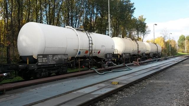 Odvoz nafty zčeských skladů Viktoriagruppe