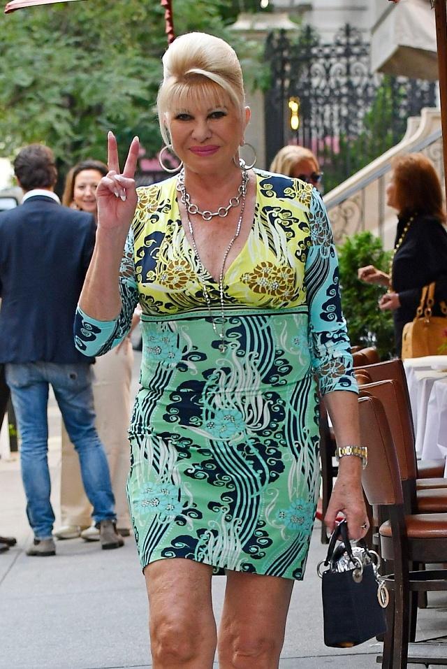 Dnes má Ivana Trumpová miliardový majetek uložený především vbudovách.