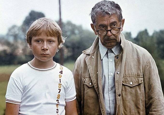 Viktor Král s Vlastimilem Brodským v seriálu Návštěvníci