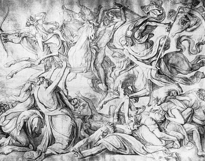 Peter von Cornelius: Apokalyptičtí jezdci