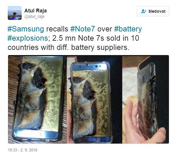 Exploze baterie zničí celý telefon.