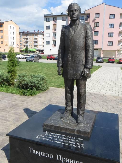 Principův památník; Srbsko