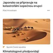V mobilní aplikaci Google News se na čelních místech v Česku velmi často objevuje prokremelský Sputnik