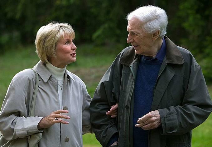 Ladislav Chudík s Eliškou Balcerovou po letech