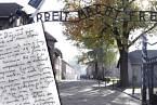 Řecký Žid Marcel Nadjari uschoval v Osvětimi dopis, který se našel až v roce 1980.