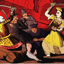 Čeng Š' se po manželově smrti ujala vedení nad piráty.