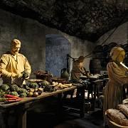 Středověké hostiny byly velmi bohaté