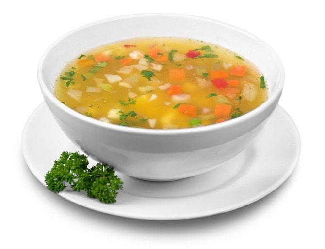 Ideální večeře: zeleninová polévka