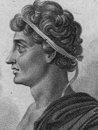Gelón, syrakúský tyran, ovládal většinu Sicílie