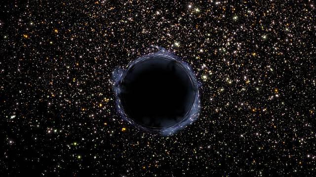 Černá díra ve vesmíru - vědci zjistili, že jedna je možná v naší sluneční soustavě