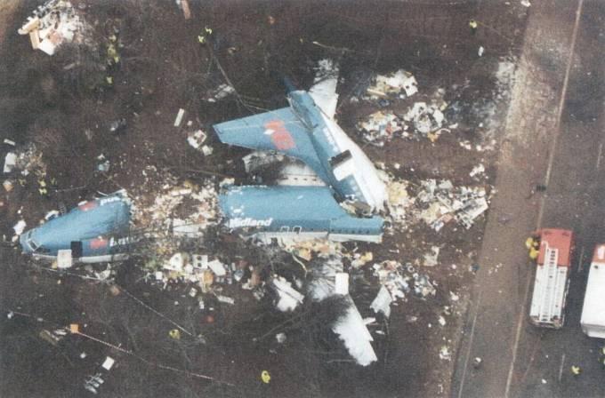 Letecká katastrofa v britském Kegworthu