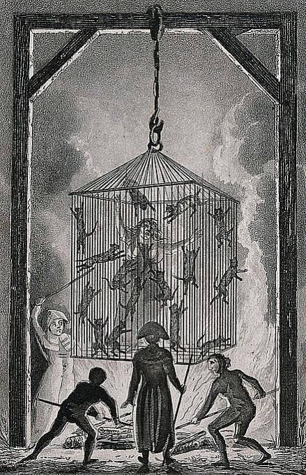 Kdo ve středověku napomáhal ženě k potratu, byl obviněn z čarodějnictví.
