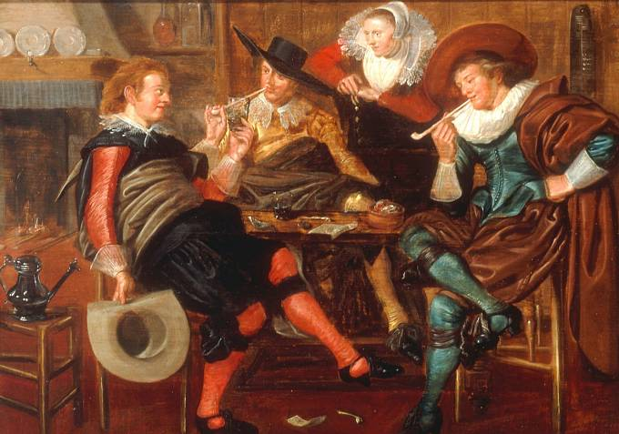 Kouření v minulosti