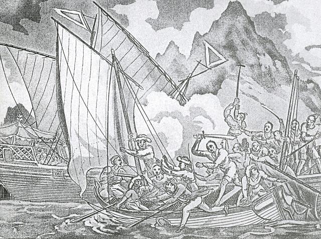 Piráti zČengovy flotily, 1806