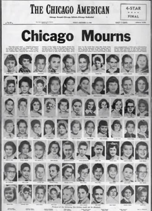 Vzpomínka na 92 dětí, které ve škole zahynuly