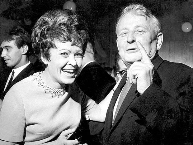 Jiřina Bohdalová a Antonín Novotný (1957–1968)