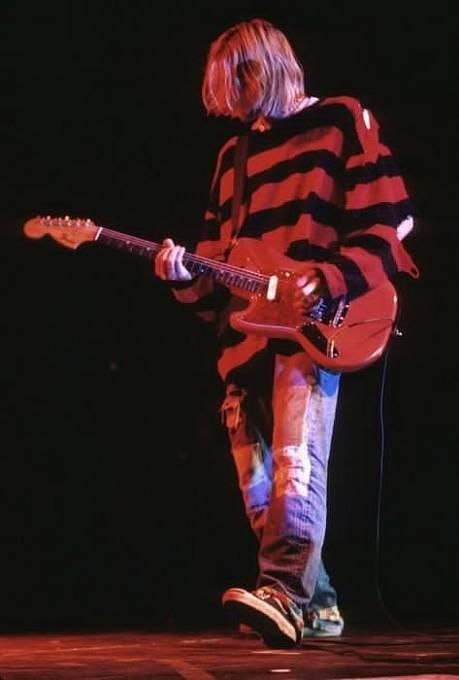 Kurt Cobain byl za svého života módní ikonou.