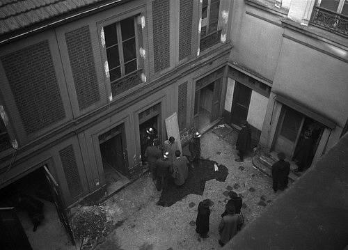 Dům ve kterém během německé okupace zabil 27 uprchlíků