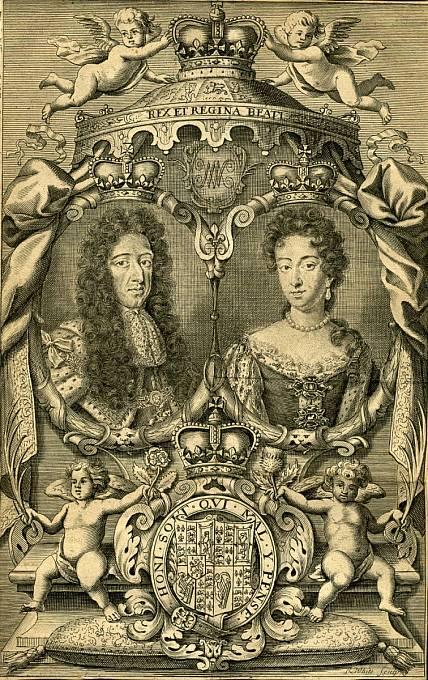 Vilém III. Oranžský a Marie Stuartovna