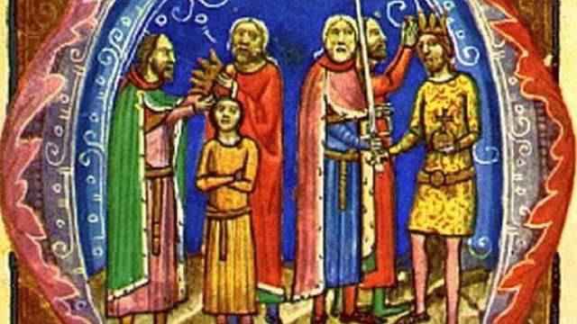 Béla I. korunován králem