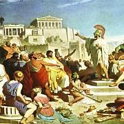 Shromáždění občanů ve starověkých Athénách