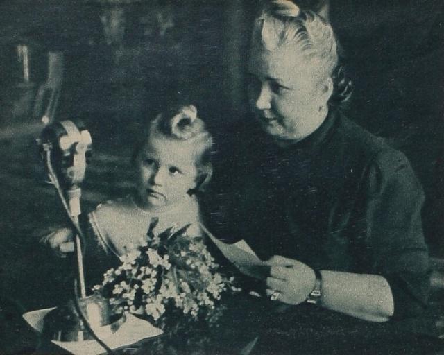 Marta Gottwaldová svnučkou Martou
