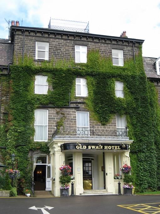 Hotel Swan Hydro v Harrogate, kde se Agatha Christie ubytovala během svého zmizení