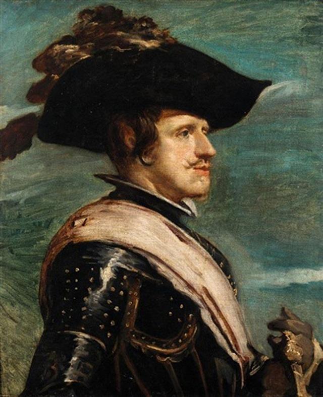 Nejvýraznějšími, pro Habsburky typickými rysy trpěl panovník Filip IV.