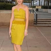 Róby YSL často oblékají hvězdy Hollywoodu: Leighton Meester