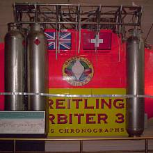 Kabina balonu Breitling Orbiter 3, v níž dva vzduchoplavci jako první obletěli svět v balonu bez mezipřistání